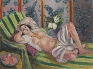 henri matisse odalisque with magnolias