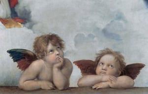 Raphael's Putti Cherubs
