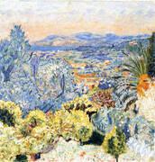 The Cote d'Azur 1923 By Pierre Bonnard