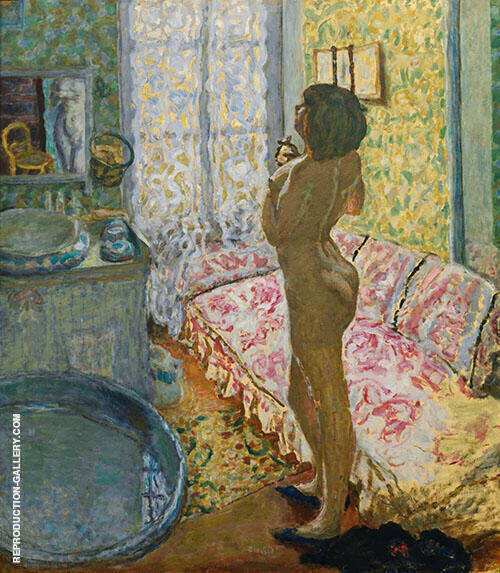 Nude Against Daylight 1908 By Pierre Bonnard