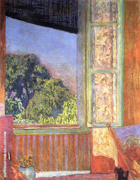 The Open Window 1921 By Pierre Bonnard Replica Paintings on Canvas - Reproduction Gallery
