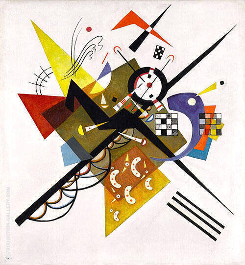 On White II 1923 Painting By Wassily Kandinsky - Reproduction Gallery
