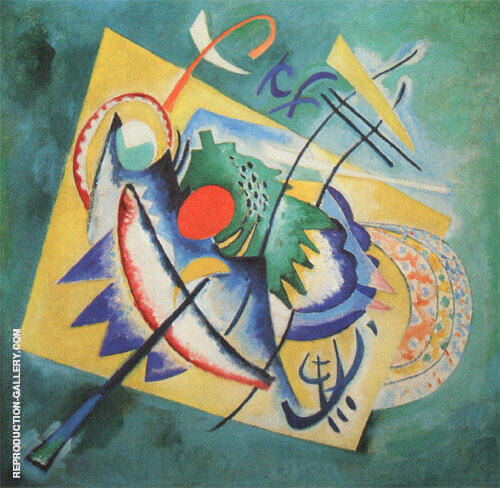 Red Oval 1920 By Wassily Kandinsky Replica Paintings on Canvas - Reproduction Gallery