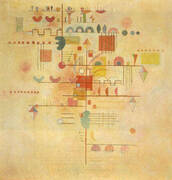 Tender Ascent 1934 By Wassily Kandinsky