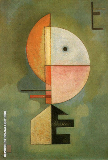 Upwards 1929 Painting By Wassily Kandinsky - Reproduction Gallery