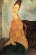 Yellow Sweater 1919 By Amedeo Modigliani