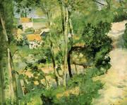 Climbing Path 1875 By Camille Pissarro