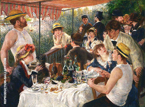 The Luncheon of the Boating Party 1881 By Pierre Auguste Renoir