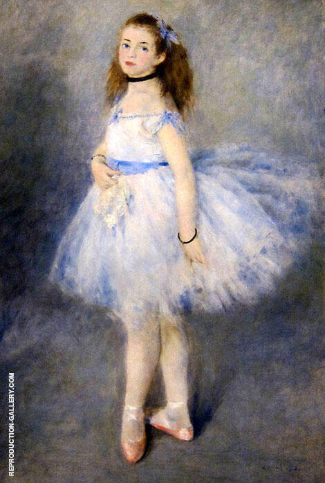 The Dancer 1874 Painting By Pierre Auguste Renoir - Reproduction Gallery