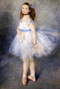 The Dancer 1874 By Pierre Auguste Renoir