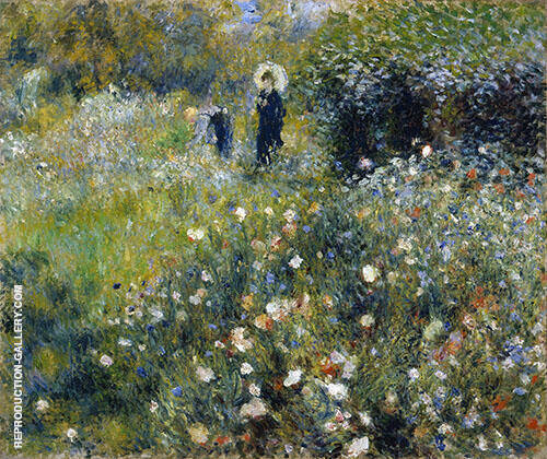 Summer Landscape 1873 Painting By Pierre Auguste Renoir