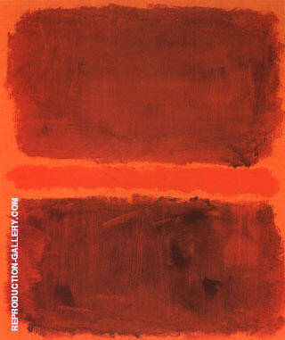Untitled 7769 By Mark Rothko
