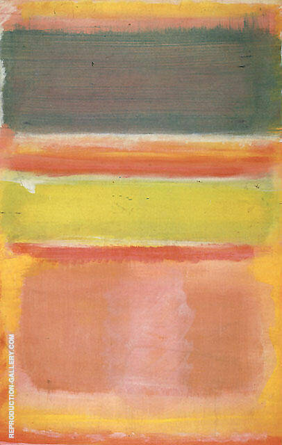 Untitled 2450 By Mark Rothko - Oil Paintings & Art Reproductions - Reproduction Gallery