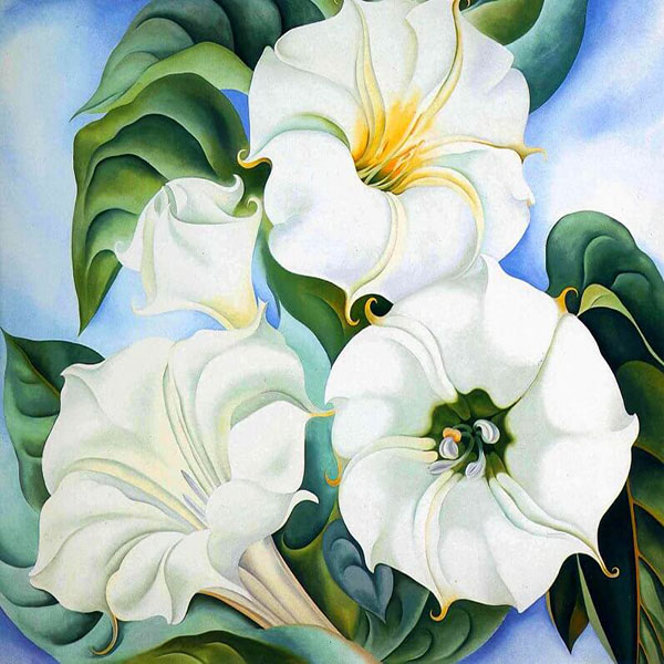 Oil Painting Reproductions of Georgia O'Keeffe