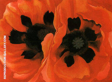 Oriental Poppies 1928 By Georgia O'Keeffe
