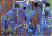 Hermitage 1918 By Paul Klee