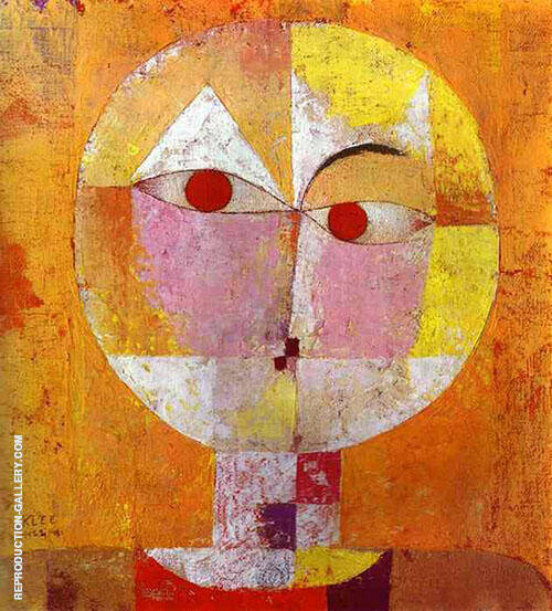 Senecio 1922 By Paul Klee