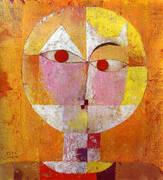 Senecio 1922 By Paul Klee