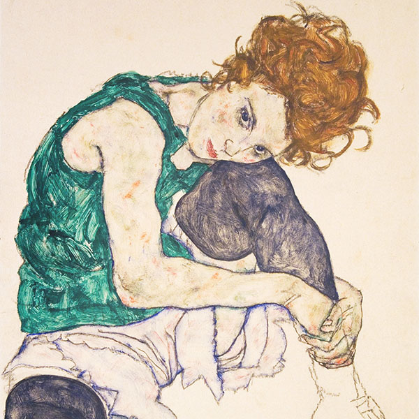 Oil Painting Reproductions of Egon Schiele