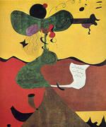 Portrait of Mrs Mills 1929 By Joan Miro
