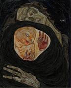 Dead Mother 1910 By Egon Schiele