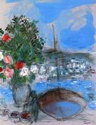 Poros 1954 By Marc Chagall