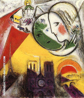 Sunday Painting By Marc Chagall - Reproduction Gallery