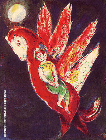 Arabian Nights Painting By Marc Chagall - Reproduction Gallery