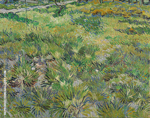 Long Grass with Butterflies Painting By Vincent van Gogh