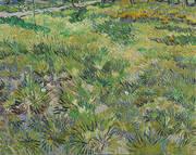 Long Grass with Butterflies By Vincent van Gogh