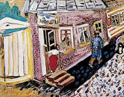 The Street By Marc Chagall