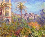 Villas at Bordighera 1888 2 By Claude Monet