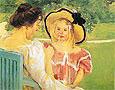 In the Garden 1904 By Mary Cassatt