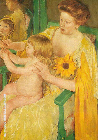 Mother and Child 1905 By Mary Cassatt