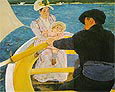 The Boating Party 1894 By Mary Cassatt