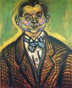 Joan Miro Self Portrait 1917 By Joan Miro