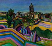 Prades the Village 1917 By Joan Miro