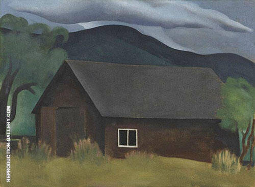 My Shanty Lake George 1922 By Georgia O'Keeffe