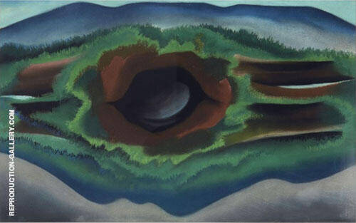 Pool in the Woods 1922 By Georgia O'Keeffe