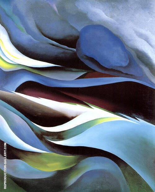 From the Lake No 1 1924 By Georgia O'Keeffe