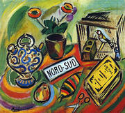 North-South 1917 By Joan Miro