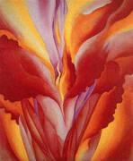 Red Canna 1924 By Georgia O'Keeffe