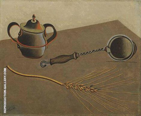 The Ear of Grain 1922 By Joan Miro