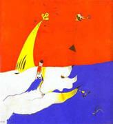 Landscape 1924 By Joan Miro