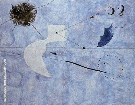 Siesta 1925 By Joan Miro
