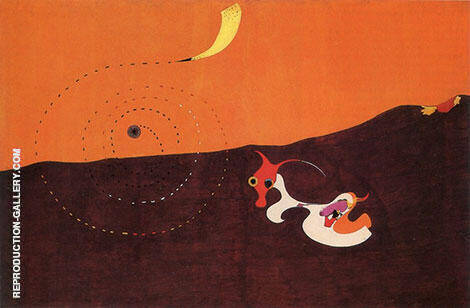 Landscape The Hare 1927 By Joan Miro - Oil Paintings & Art Reproductions - Reproduction Gallery