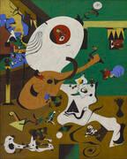 Dutch Interior 1 1928 By Joan Miro