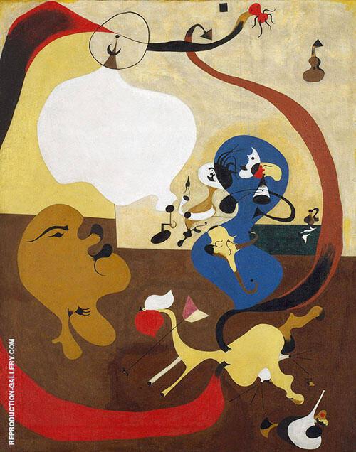 Dutch Interior II 1928 By Joan Miro
