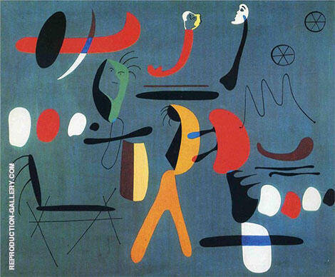 Painting 1933 By Joan Miro - Oil Paintings & Art Reproductions - Reproduction Gallery