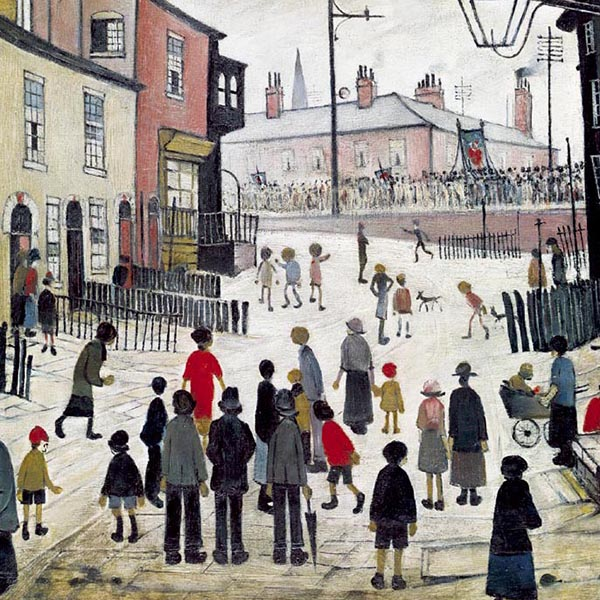 Oil Painting Reproductions of L-S-Lowry